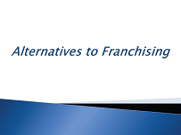 Alternatives to Franchising - WCFE seminar graphic