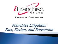Franchise Litigation - WCFE seminar graphic