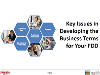 Key Business Issues in Developing the FDD - WCFE seminar graphic