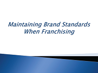 Maintaining Brand Standards - WCFE seminar graphic