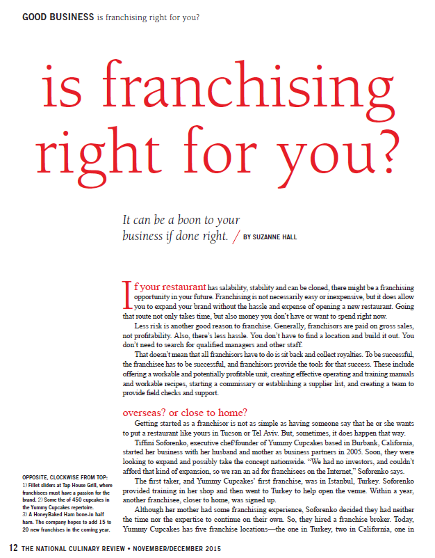 NCR franchising article link Dec 2015