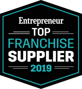 Entrepreneur Top Franchise Supplier 2019 for Franchise Consulting/Development Category